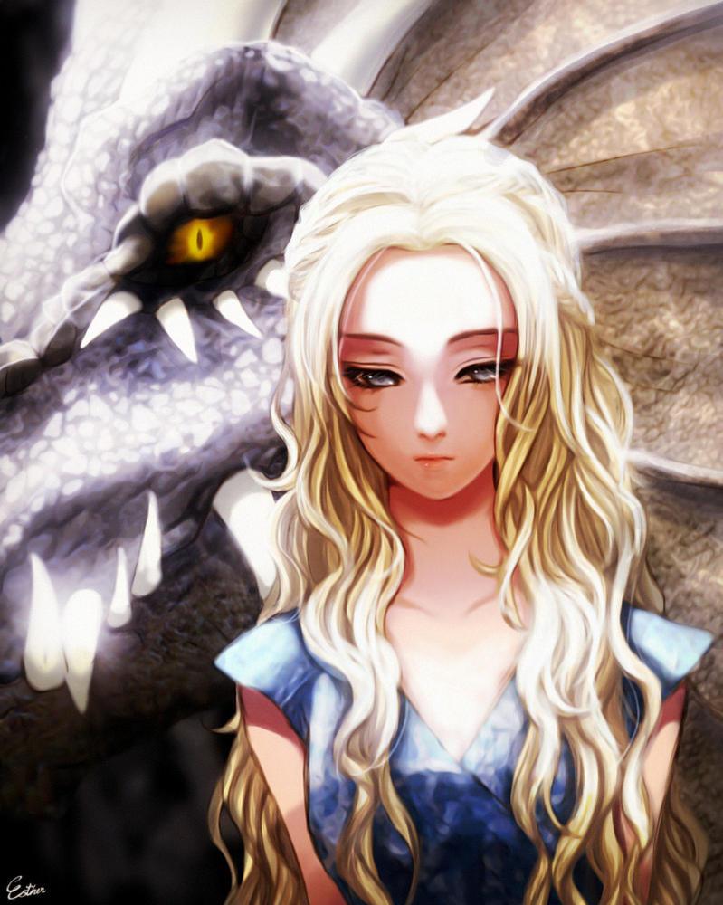 Daenerys By Esther Shen On Deviantart