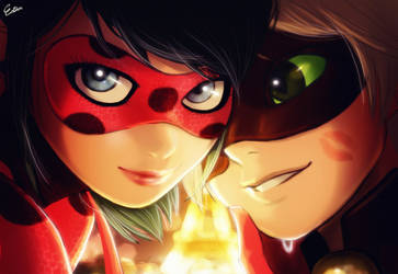 Miraculous Ladybug by Esther-Shen