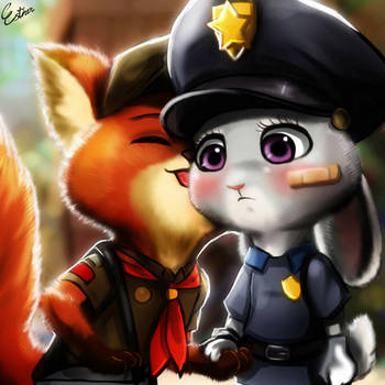 Judy X Nick by Esther-Shen