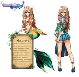 Melusine Character sheet by Esther-Shen