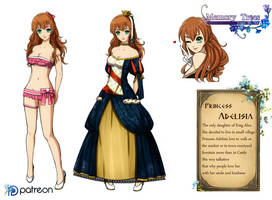 princess Adelisia update by Esther-Shen