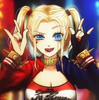 Harley Quinn Mini by Esther-Shen