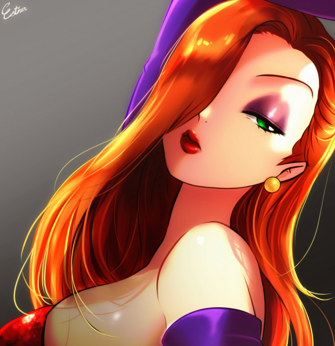 Jessica Rabbit by Esther-Shen