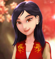 Mulan by Esther-Shen