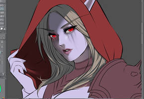 Sylvanas Windrunner WIP by Esther-Shen