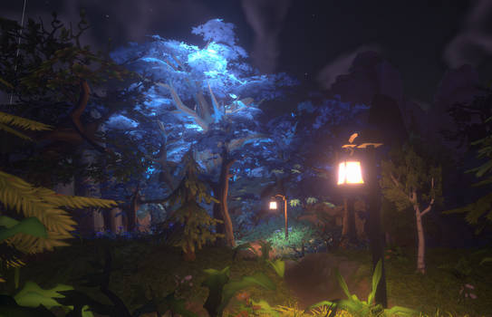 Night mode : Elf zone by Esther-Shen