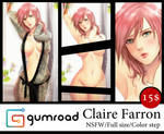 Gumroad : Claire Farron by Esther-Shen