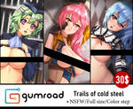 Trails of Cold Steel Pack by Esther-Shen