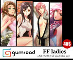 Gumroad : FF Ladies by Esther-Shen
