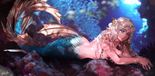 At ocean : Melusine