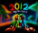 .:GA:. Happy New Year 2012 by Liara-Chan