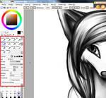 Liara-Chan style Paintbrush -SAI-