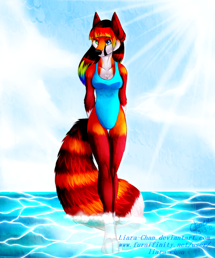 :.Summer Strut.: by Liara-Chan