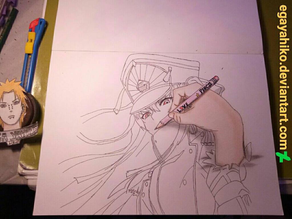 3d drawing art pensil hand draw altair by egayahiko