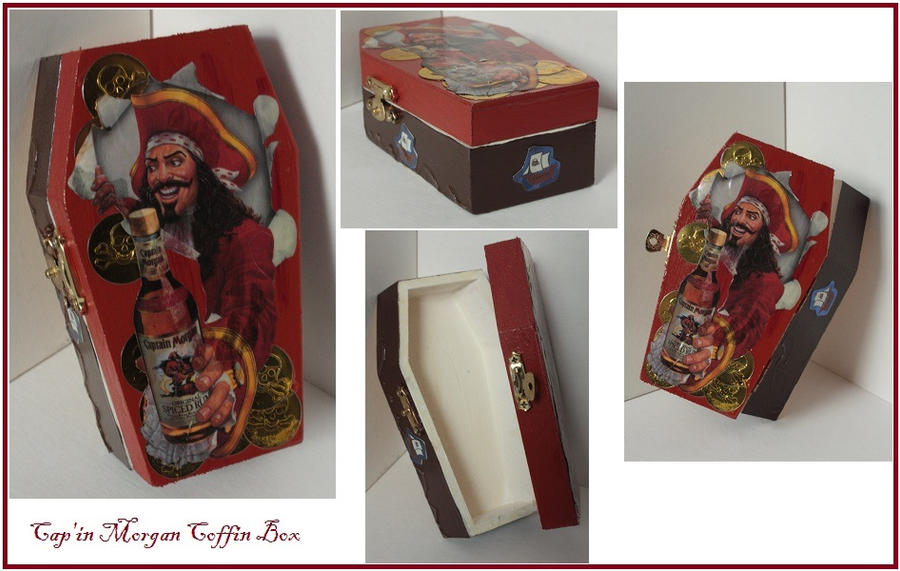 The Captain Morgan Coffin Box by CaptainDunkenstein