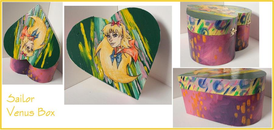 Sailor Venus Box by CaptainDunkenstein