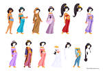 Disney Paper Dolls 1: Jasmine