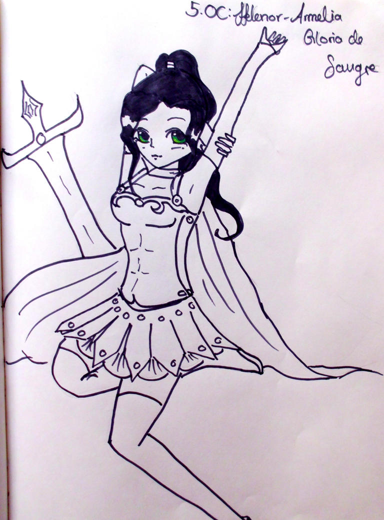 5 OC Helenor- Armelia Gloria De Sangre by KaisiShu