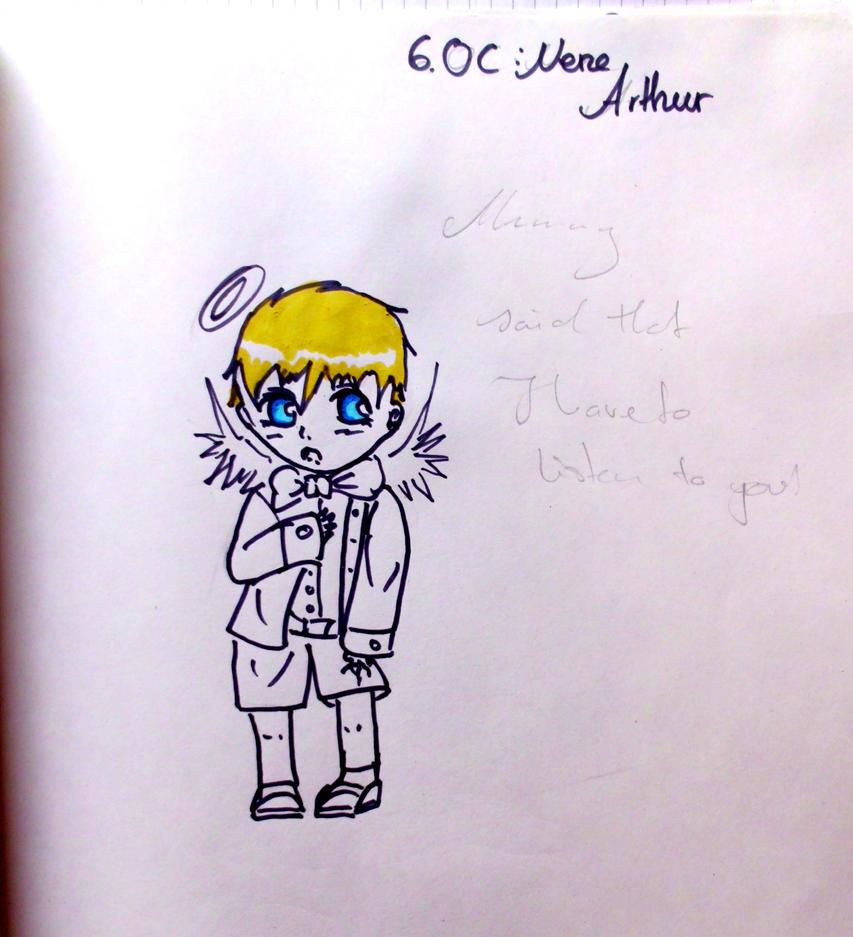 6 OC Nene Arthur by KaisiShu
