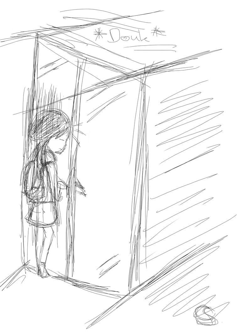 The moment I ran into the door... by KaisiShu
