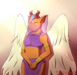 [Raffle prize] Dragonsfireelf by Sozanek