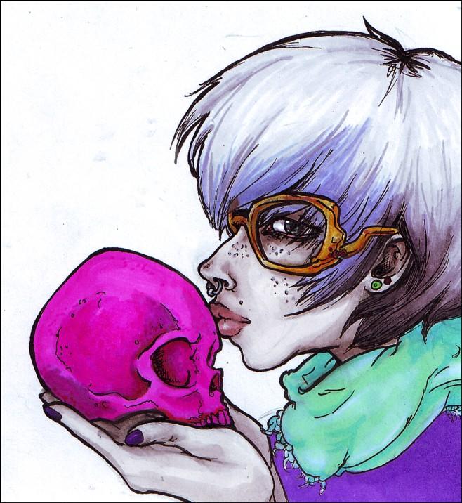 Kiss of Death. by Gwynhwyver