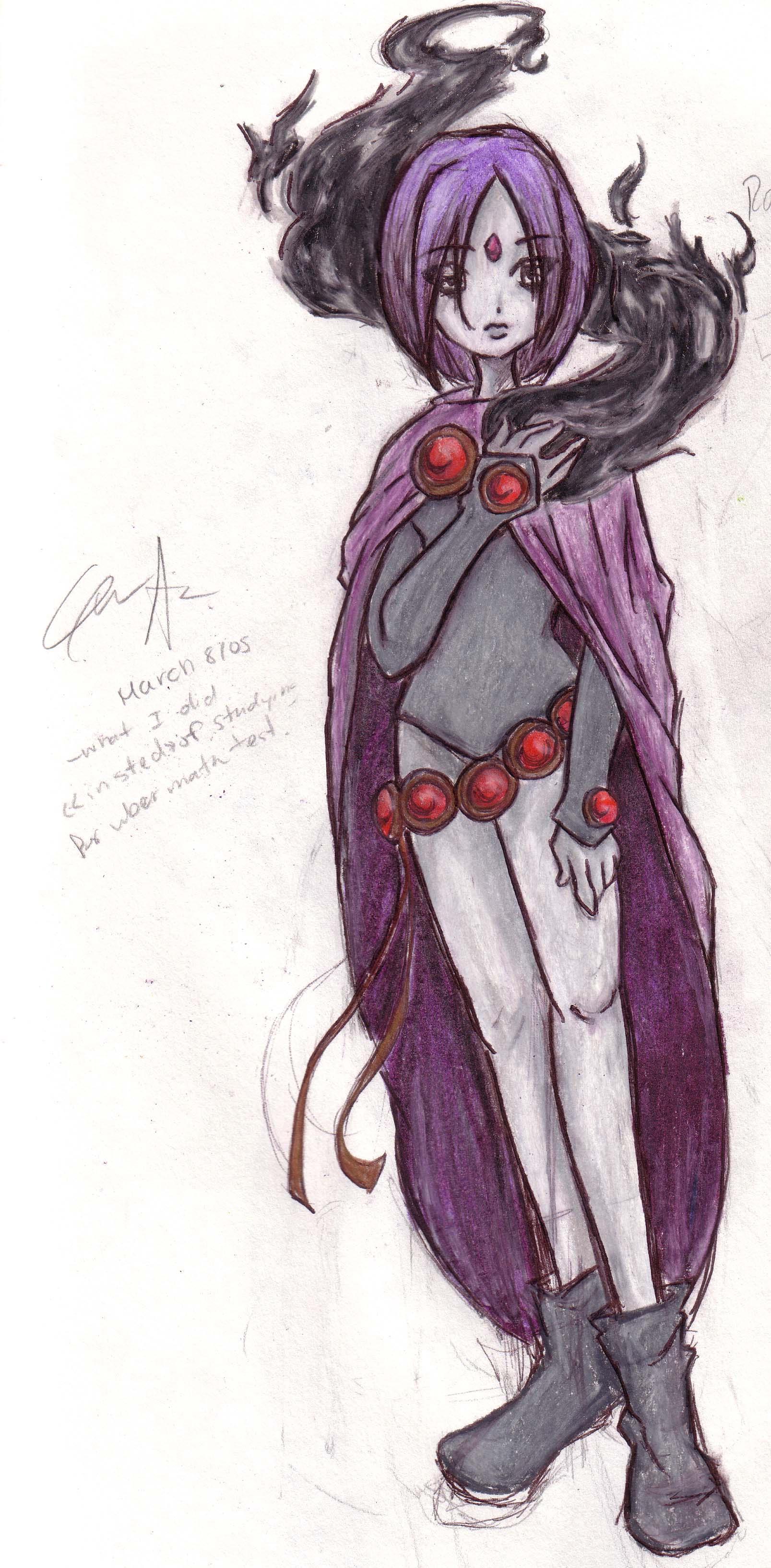 Raven by Gwynhwyver