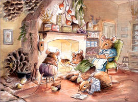 Fireside Mice