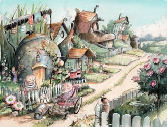 Gnomesville by GabrielEvans
