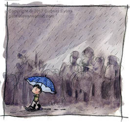 Sketchbook - Rainy Weather by GabrielEvans