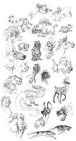 Animal and Creature Sketches