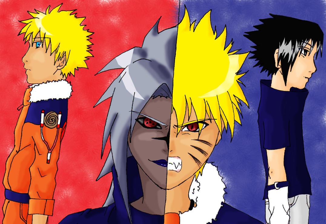 naruto kyuubi vs sasuke - photo #14