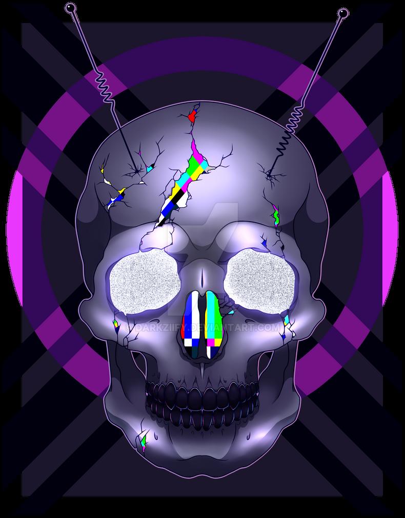 Static Skull by DarkZiify