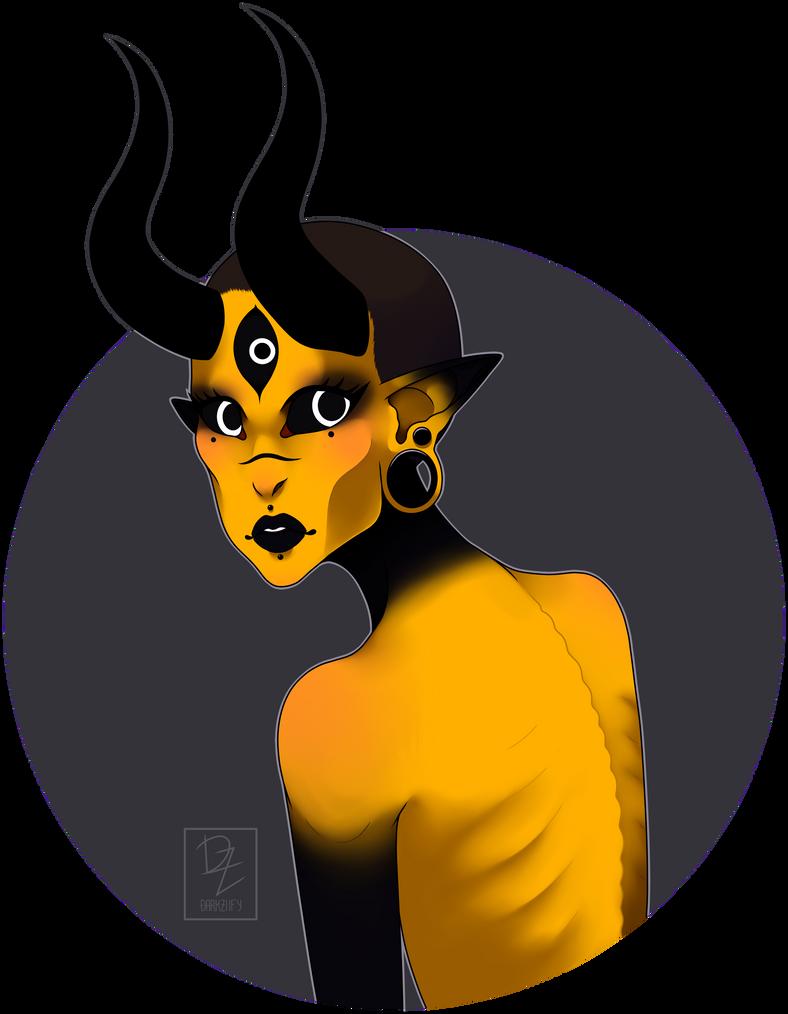 Halloween 2017 [Day 6] by DarkZiify