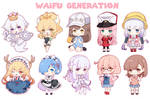 Waifu generations