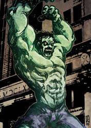 Hulking man by danteginevra