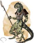Lizardman Warrior _ Final
