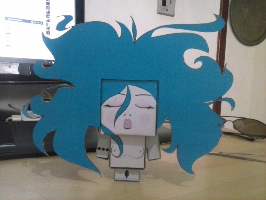 Milky - paper toy vs. by Runegoblin
