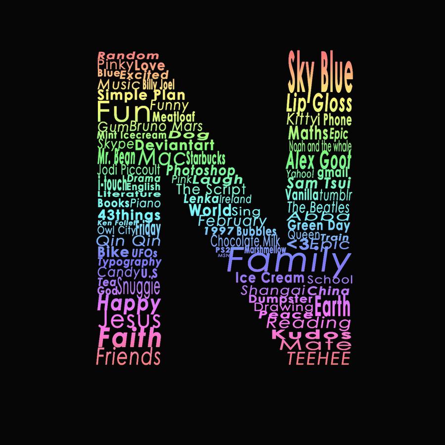 The N Letter by StopAndThink97 on DeviantArt