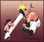 12 Kick in the head