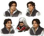 Ezio doodles