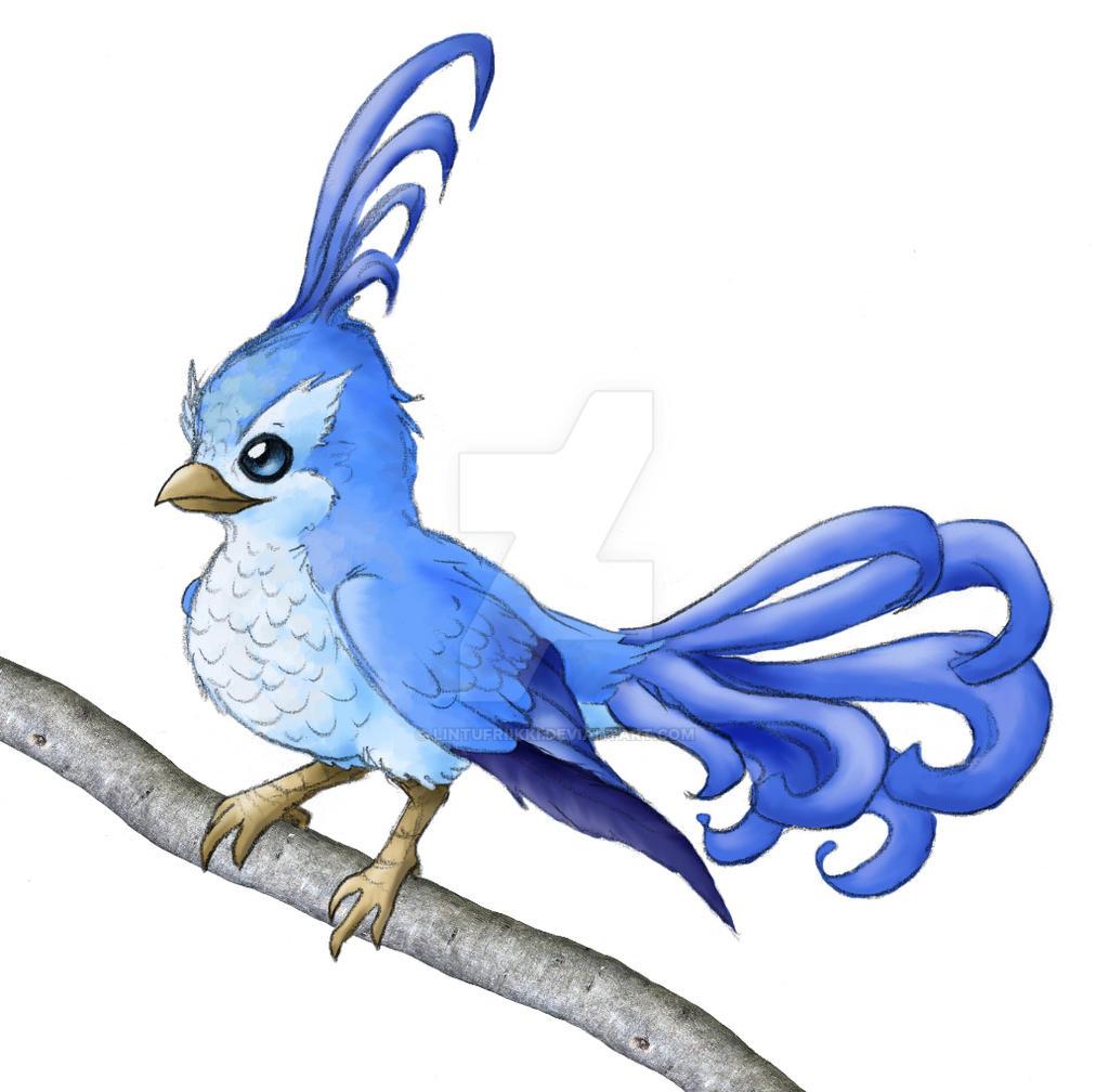 Blue Bird by Lintufriikki