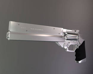 Vash's Gun Raytraced by enos