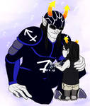 Homestuck: You don't always have to be STRONG.