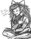 Homestuck: Shhh, little lioness.