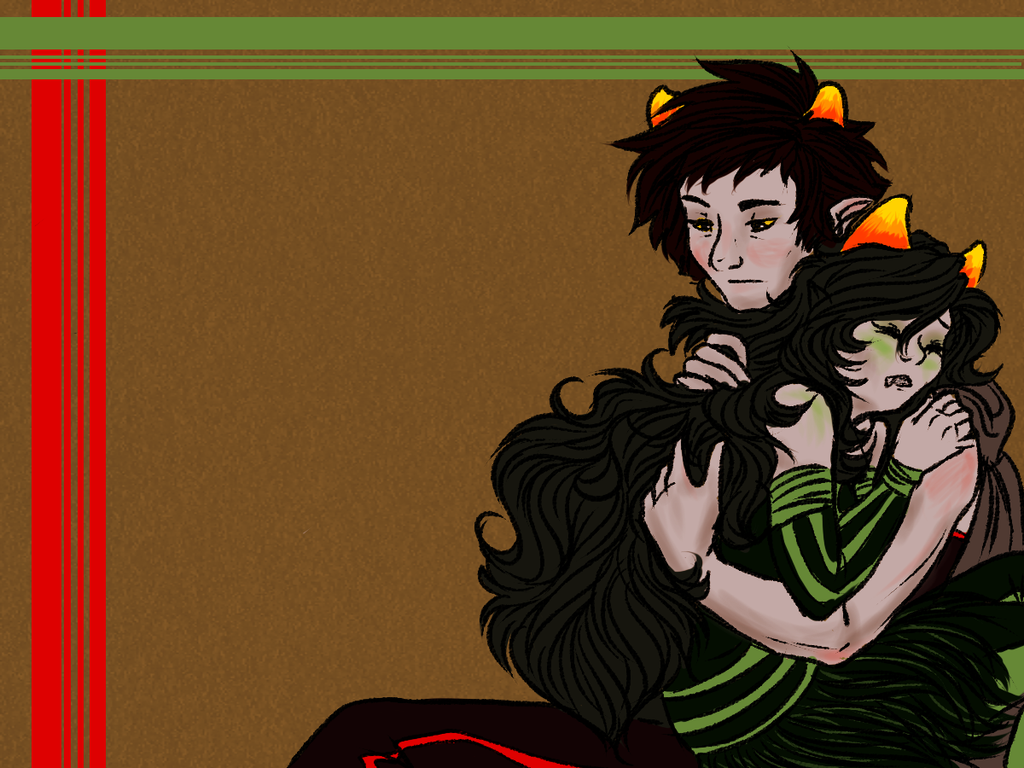 Homestuck: Lay your head on my shoulder by NancyStageRat