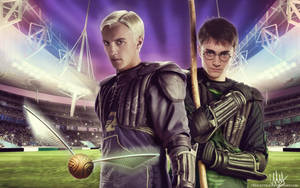 Quidditch by chouette-e