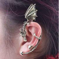 Dragon Wrap Earring fashion retro animal ear cuff by Tk-Amaryllis