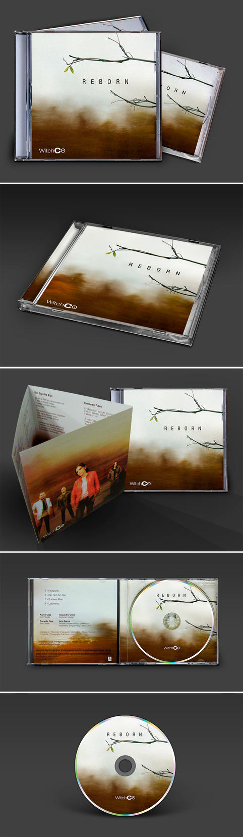 Reborn - CD Artwork by mariux