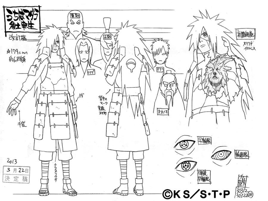Character Design Career Path : Edo madara by pablolpark on deviantart